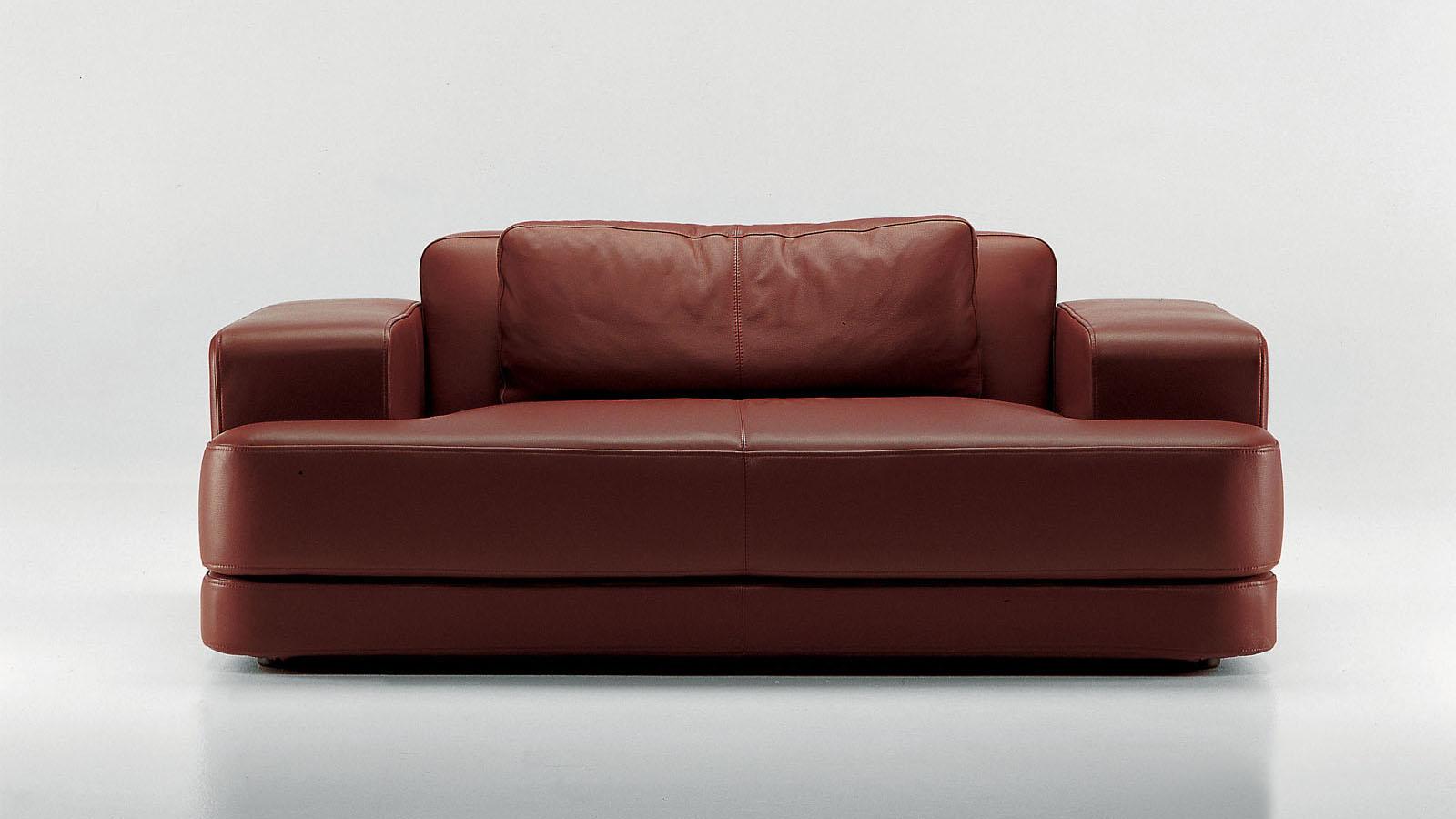 Edipo FRIGHETTO - divano in pelle