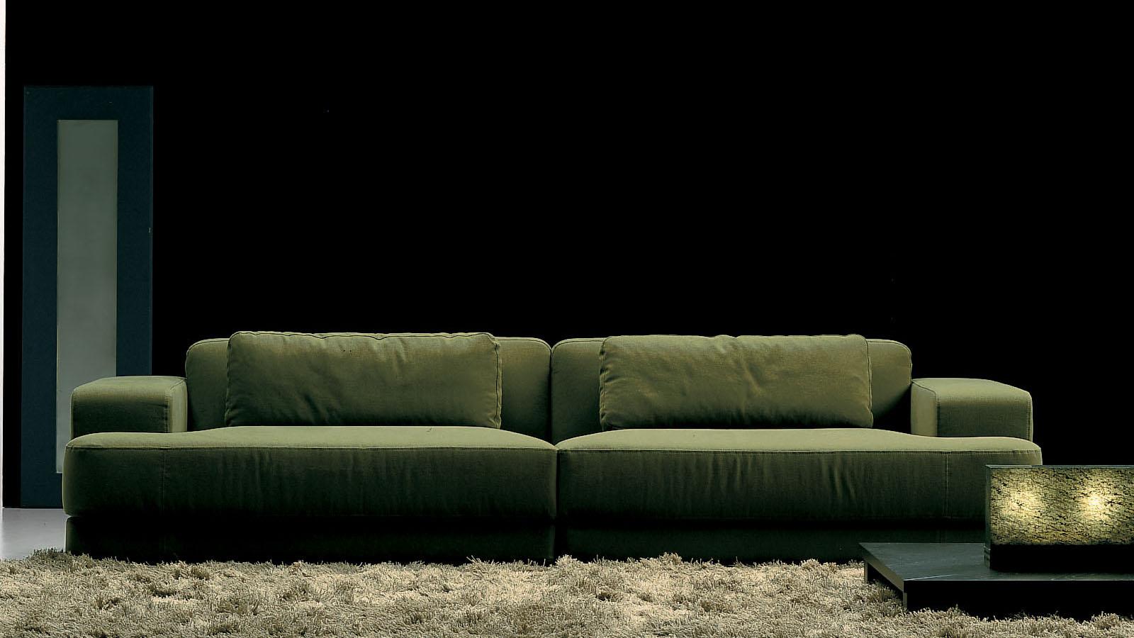 Edipo FRIGHETTO - divano verde